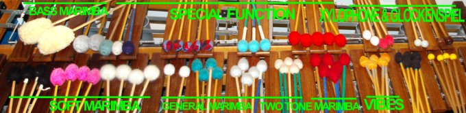 A few of the Mallets YOU can make from simple everyday materials.
