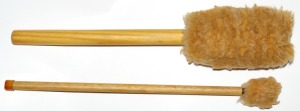 bass drum mallets made at home