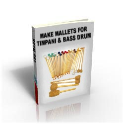 How to make your own mallets for Timpani and Bass Drum